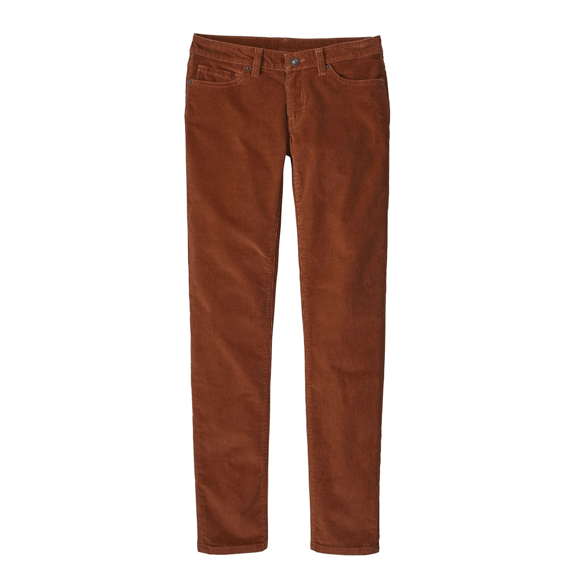 Pantalón Mujer Fitted Corduroy Pants Cafe Patagonia