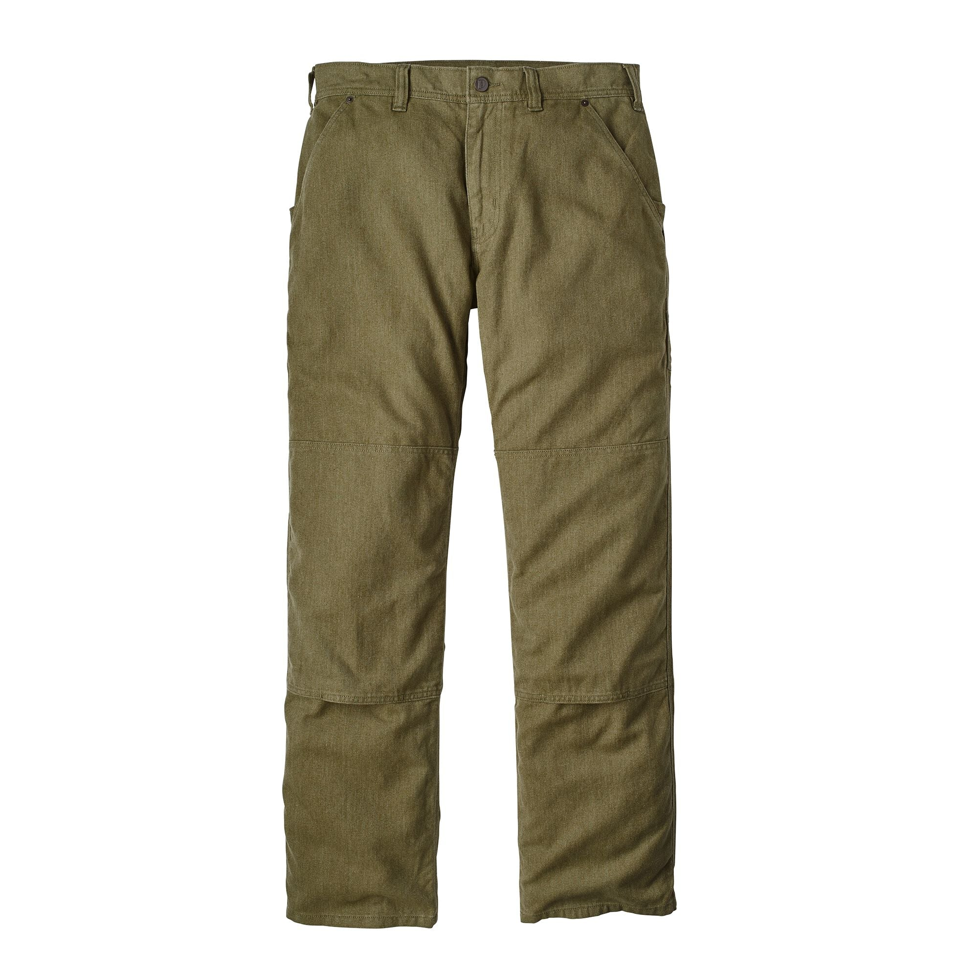 Pantalón Hombre All Seasons Hemp Canvas Double Knee - Regular Verde Patagonia