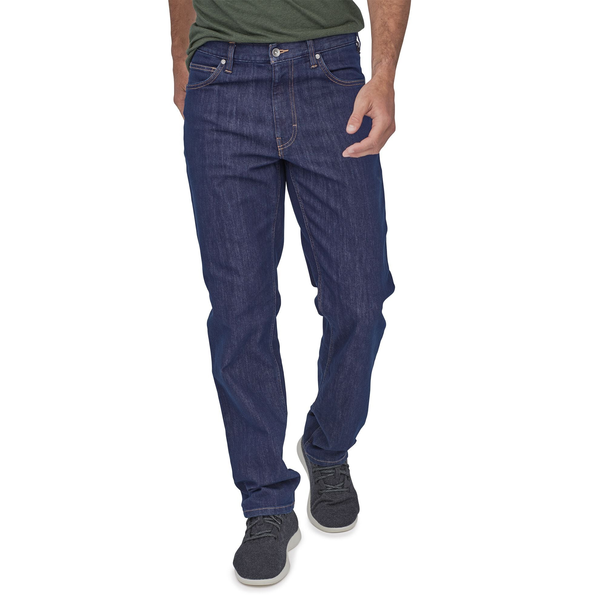 Jeans Hombre Performance Regular Fit- Regular Azul Patagonia