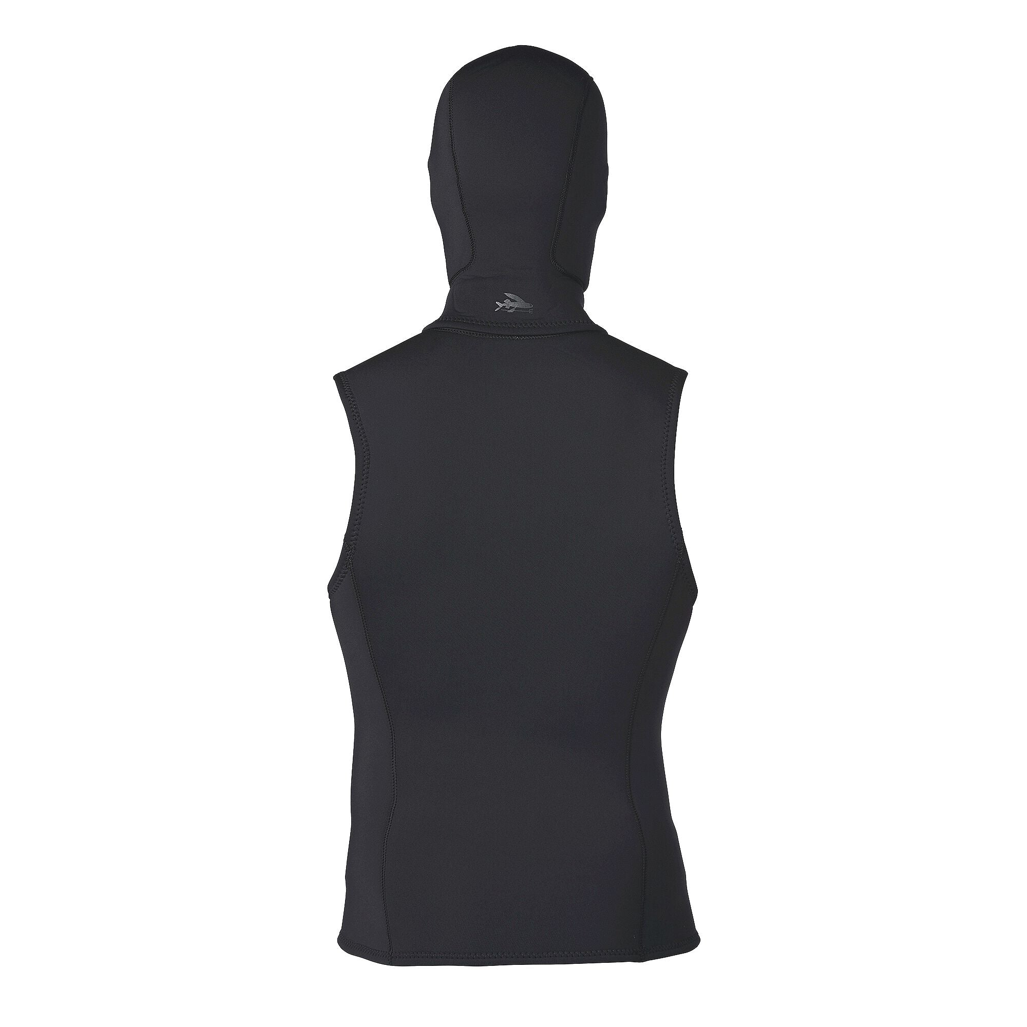 Chaleco Surf Hombre con Capucha Water Heater Hooded Vest Negro Patagonia