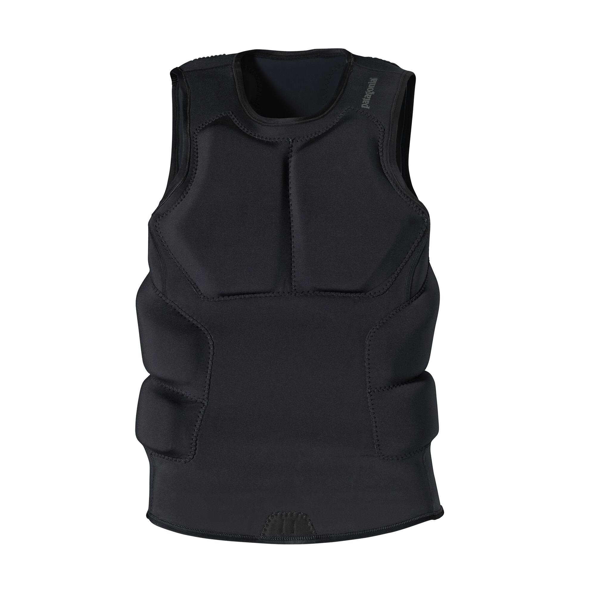 Chaleco Hombre R1® Padded Big Wave Vest Negro Patagonia