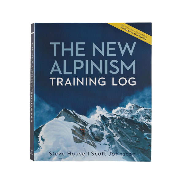 The New Alpinism Training Log por Steve House y Scott Johnston (Tapa Blanda)