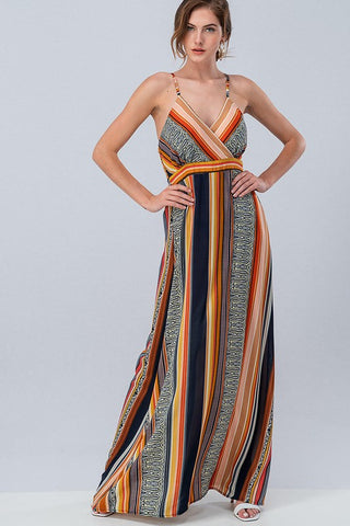 Empire Boho Maxi Dress