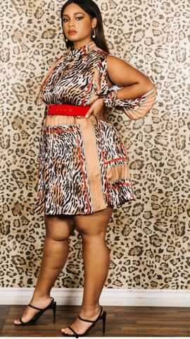 IamSoSexy Plus Size Midi Dress