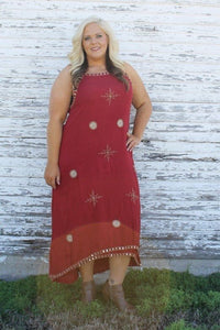 In My Element Maxi Plus Size Sundress