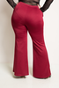 Image of Plus Size Button Down Flare Bottom Pants