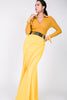 Image of Mermaid Scuba Canary Yellow Maxi Skirt