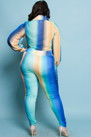 Plus size Ombre Leggings