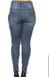 Repair Me Plus Size Denim Jeans