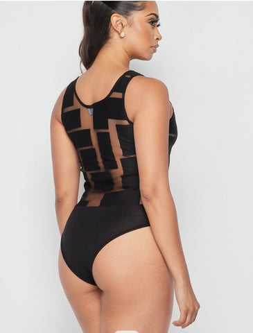 IAMOVERTHETOP BODYSUIT