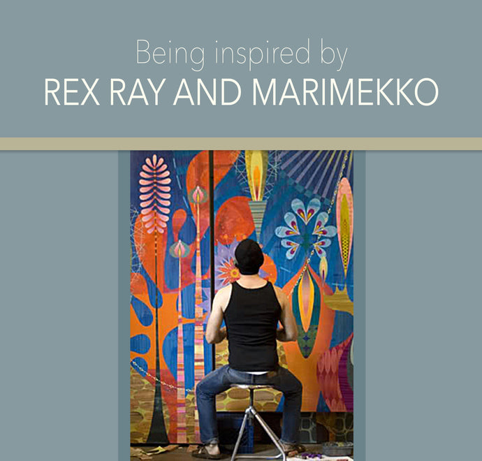 Inspiring Artists Rex Ray and the Marimekko group