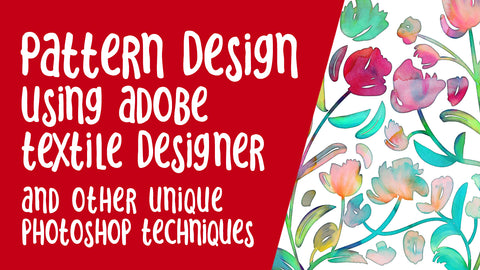 Pattern Design in Photoshop - full instructional video class