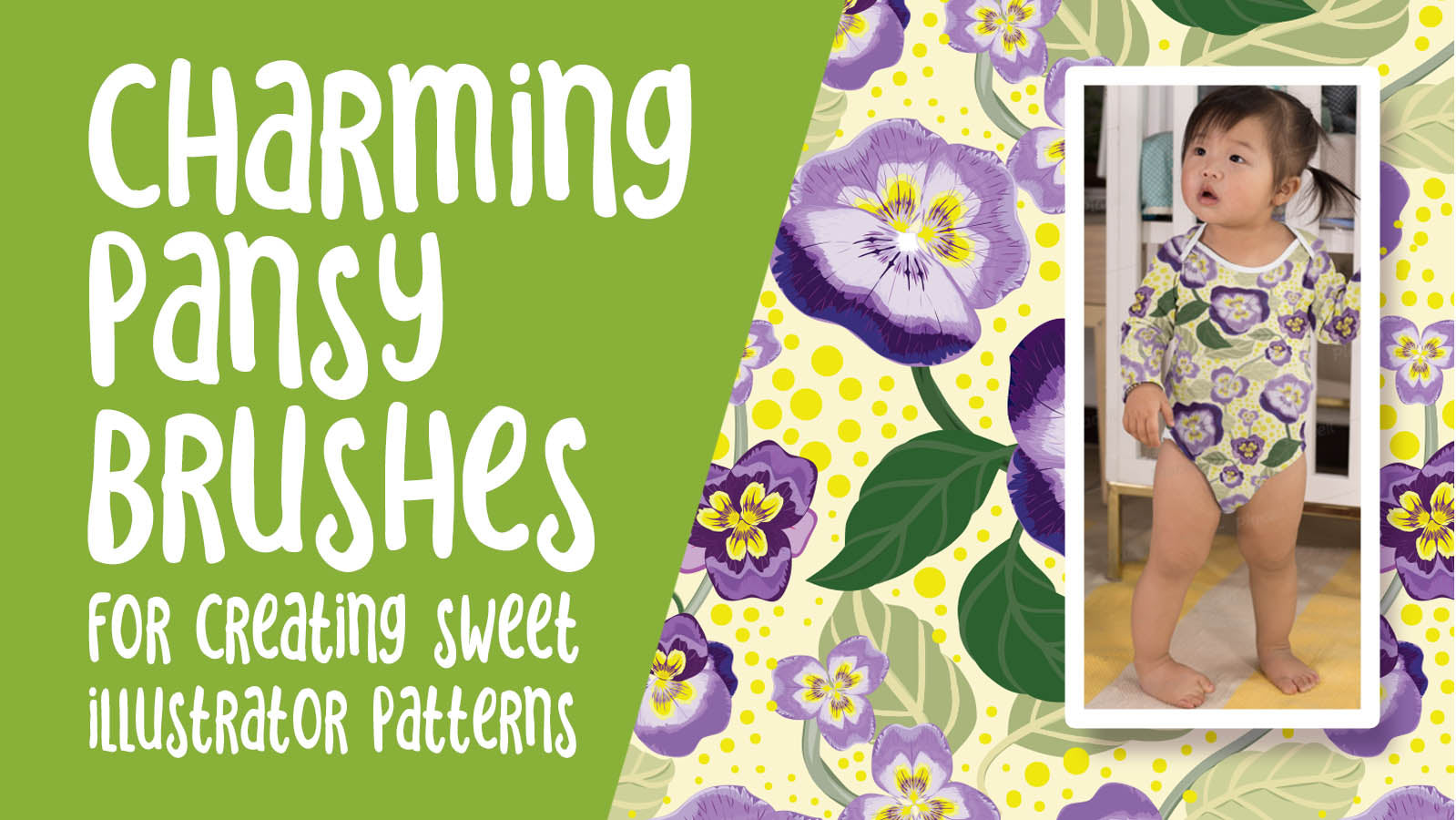 Charming Pansy Brushes -  full instructional video classes