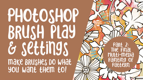 Learn Photoshop Brushes and settings