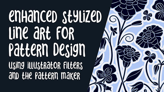 Use Illustrator's Filters to Enhance Line Art