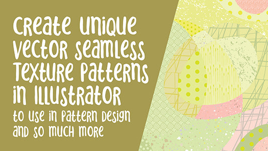 Seamless Vector Repeat Pattern Texture for Backgrounds in Illustrator