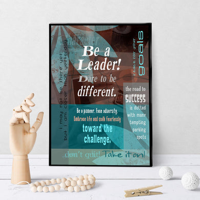 0003 Be a Leader Art