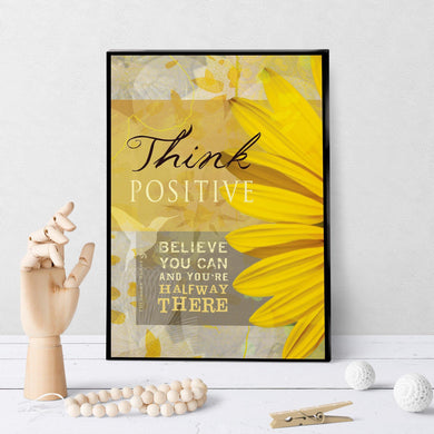 0061 Think Positive Art