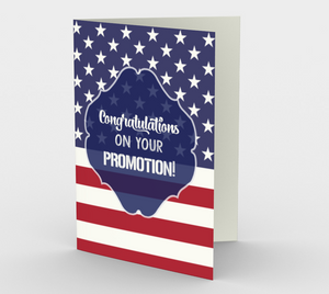 1369 Congratulations On Your Promotion Card by Deloresart