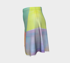 Razor's Edge Flare Skirt by Deloresart
