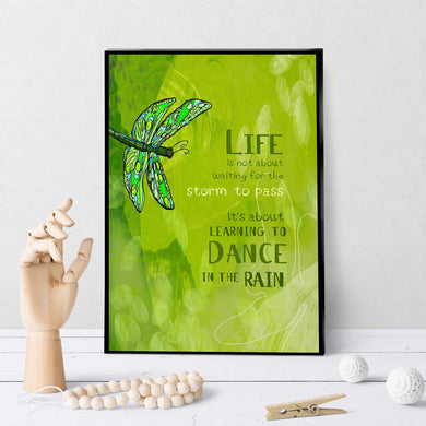 0142 Dance In The Rain Art