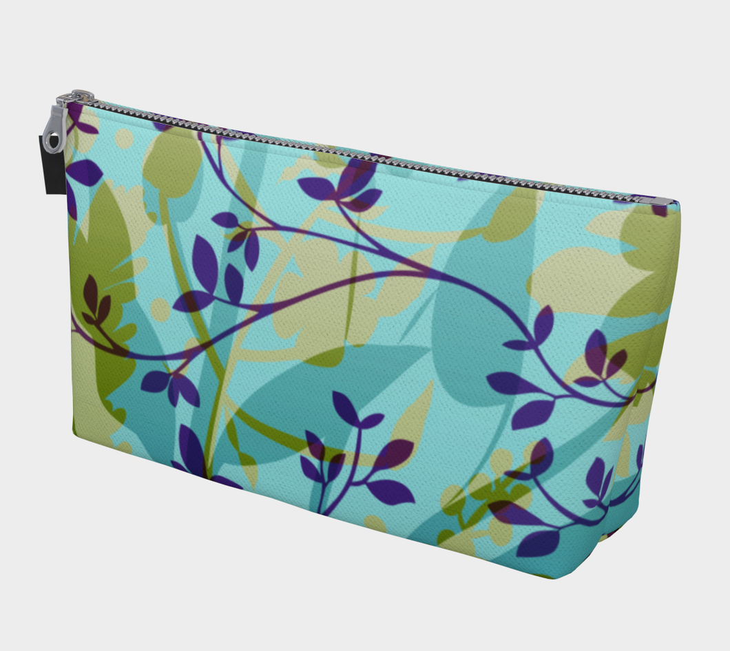 Fanciful Forest Makeup Bag - deloresartcanada