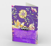 1234. Francella Floret  Card by DeloresArt