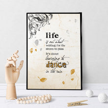 0297 Dance Rain Antique Art