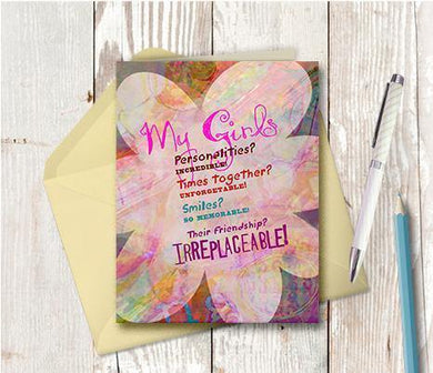 0033 Bridesmaids Note Card