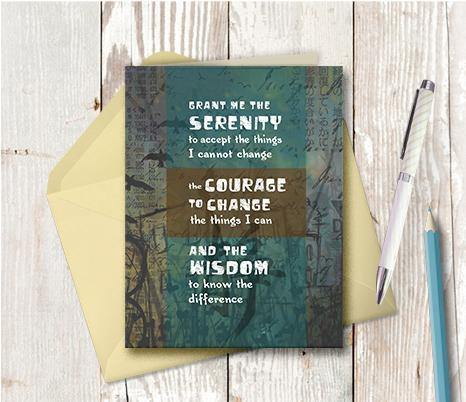 0039 Serenity Note Card