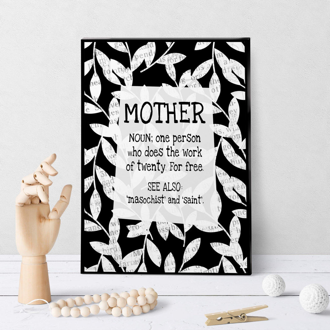 0475 Mother Noun Art - deloresartcanada