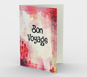 1358 Bon Voyage Card by Deloresart