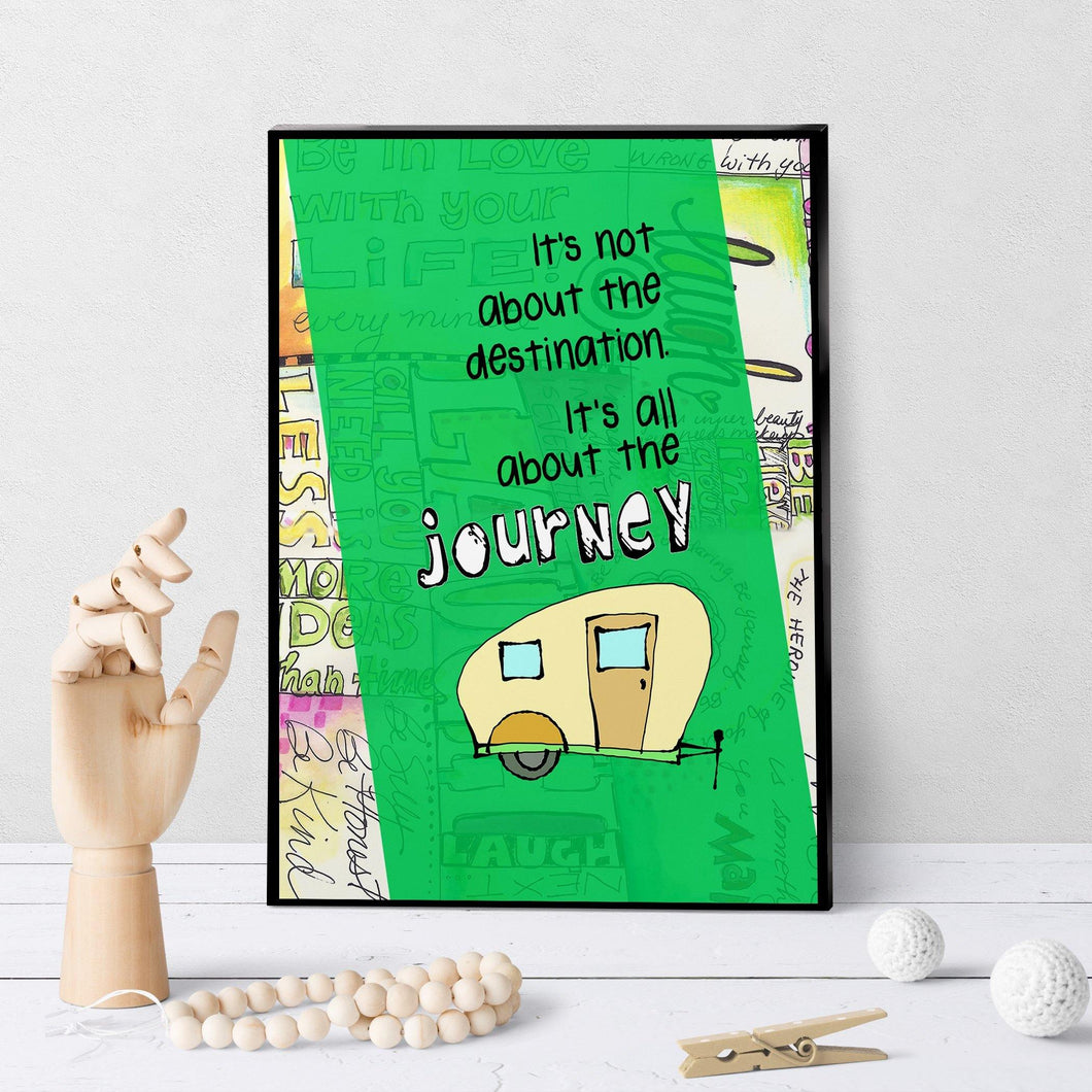 0521 Destination Journey Camper Art