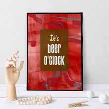 0633 Beer O'Clock Art