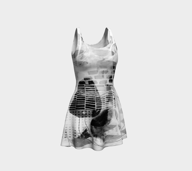 General Studies B & W Dress by Deloresart