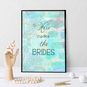 0800 Here Come The Brides Art