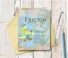 0082 Friends Are Family Card by DeloresArt