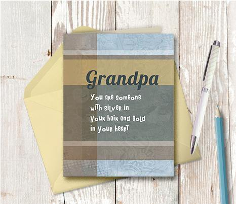 0085 Grandpa Note Card