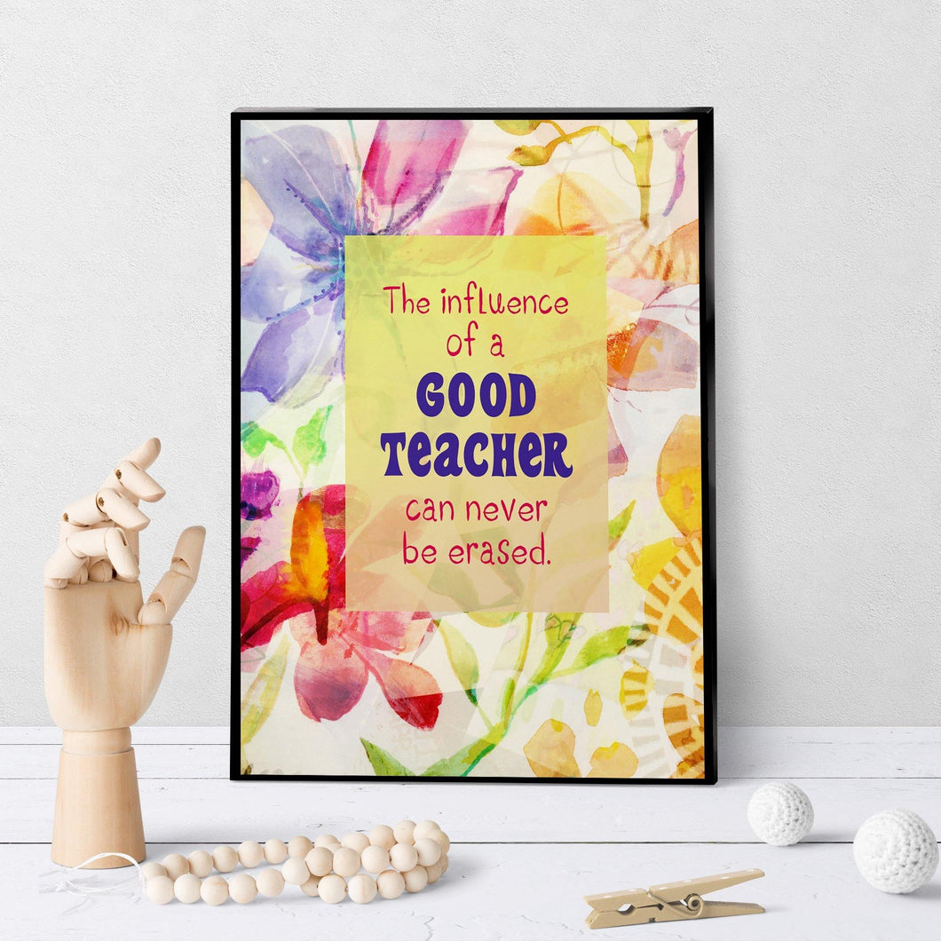 0871 Influence Of Good Teacher Art