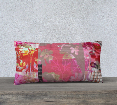 Flourish Lumbar Pillow by Deloresart