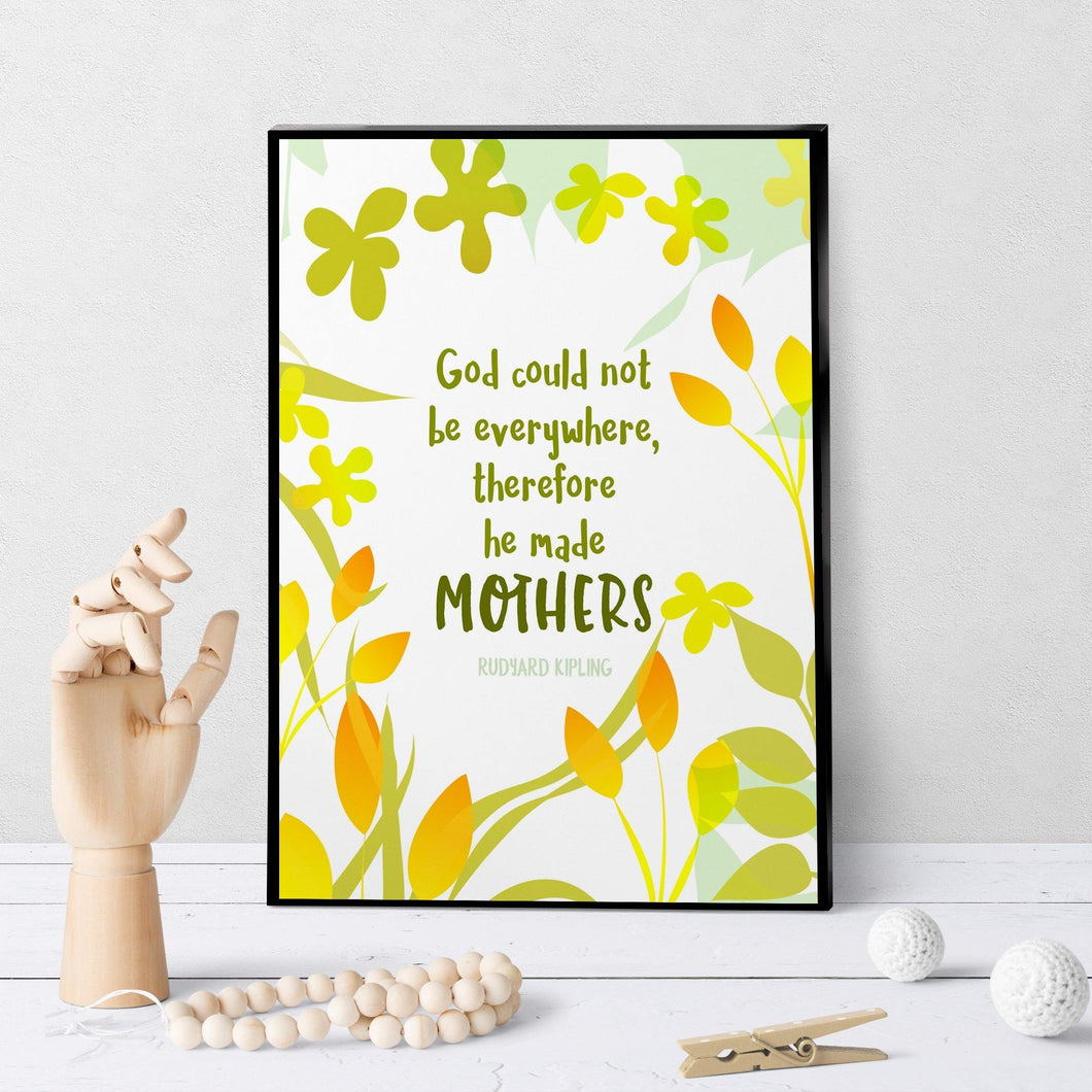 0945 God Made Mothers Art - deloresartcanada