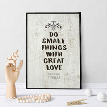 0976 Do Small Things With Great Love Art
