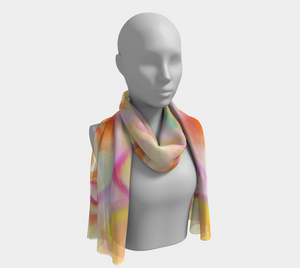 Apricot Pudding Scarf