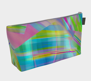 Tartan Cliffs Make-up Bag