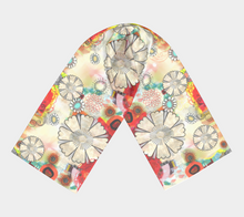 Flower Power Scarf by Deloresart