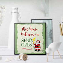 1002 This House Believes In Santa Claus Art