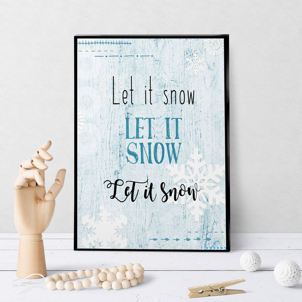 1005 Let It Snow Art