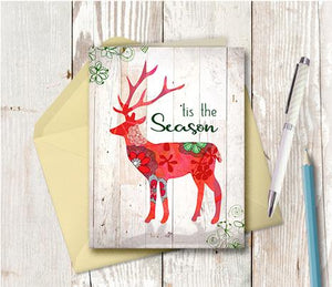 1006  Tis The Season Note Card