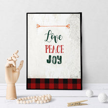 1007 Love Peace Joy Art - deloresartcanada