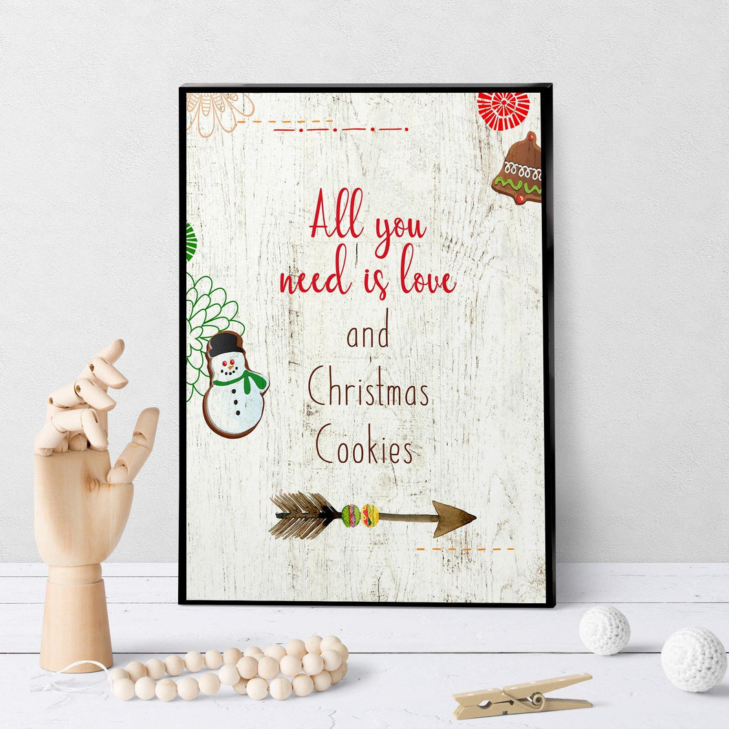 1014 All You Need Is Love And Cookies Art